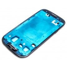 Marco frontal display para Samsung Galaxy S3 Negro