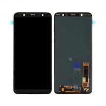 Pantalla completaLCD y táctil color negro para Samsung Galaxy J8 2018 (J810F)