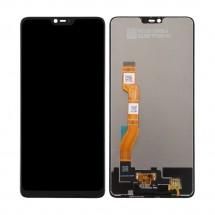 Pantalla completa LCD y táctil color negro para Oppo F7 / A3