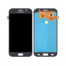 Pantalla completa LCD y tácil color negro para Samsung Galaxy A7 2017 (A720F)