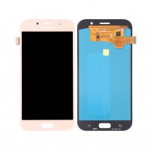 Pantalla completa LCD y tácil color rosa para Samsung Galaxy A7 2017 (A720F)