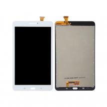 "Pantalla completa LCD y táctil color blanco para Samsung Galaxy Tab E 8"" T377 Wifi"