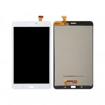 "Pantalla completa LCD y táctil color blanco para Samsung Galaxy Tab E 8"" T3777 4G"