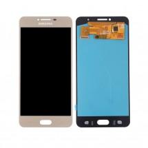 Pantalla completa LCD y táctil color dorado para Samsung Galaxy C7 Pro (C7010)
