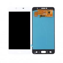 Pantalla completa LCD y táctil color blanco para Samsung Galaxy C7 Pro (C7010)