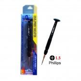 Destornillador Bofon Premium Alta Precisión Phillips 1.5 Reparaciones electrónicas