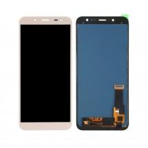 Pantalla compelta LCD y táctil color dorado para Samsung Galaxy J6 2018 J600F