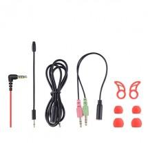 Auriculares cascos Gaming con Luz y Micrófono USB 7.1 mod. HV-H2158U