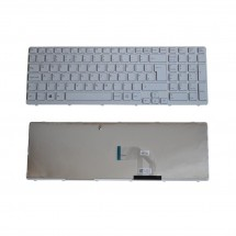 Teclado para Sony SVE15 Series ENG color blanco