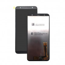 inicialPantalla completa LCD y táctil color negro para Samsung Galaxy J4 Plus / J6 Plus J610