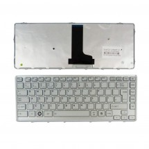 Teclado para Toshiba Satellite T230 Series ENG color silver