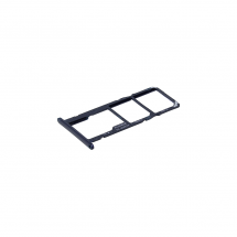 Bandeja porta tarjeta Dual Sim y MicroSD color azul para Huawei Honor 7S