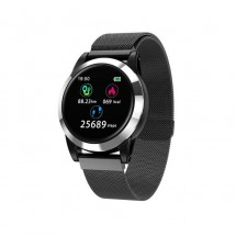 Reloj inteligente Smartwatch R15 METAL - Sumergible - Notificaciones - elige color