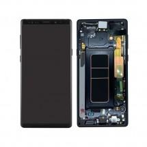 Pantalla completa LCD y táctil con Marco color Negro para Samsung Galaxy Note 9 N960