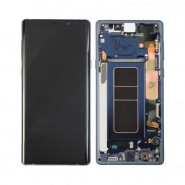Pantalla completa LCD y táctil con Marco color Azul para Samsung Galaxy Note 9 N960F