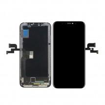 Pantalla completa LCD y táctil color negro para iPhone XS