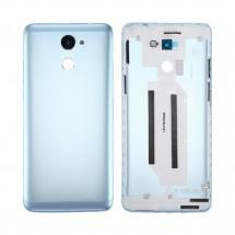 Tapa trasera color azul claro con cristal lente para Huawei Y7 2017 / Enjoy 7 Plus / Y7 Prime