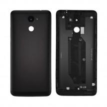 Tapa trasera color negro con cristal lente para Huawei Y7 2017 / Enjoy 7 Plus / Y7 Prime