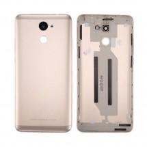 Tapa trasera color dorado con cristal lente para Huawei Y7 2017 / Enjoy 7 Plus / Y7 Prime