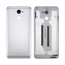 Tapa trasera color gris con cristal lente para Huawei Y7 2017 / Enjoy 7 Plus / Y7 Prime