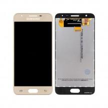 Pantalla completa LCD y táctil color dorado para Samsung Galaxy J5 Prime G570