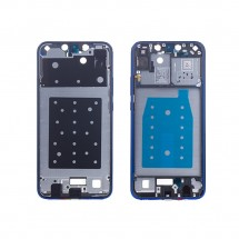 Marco frontal display color azul para Huawei P Smart Plus / Smart+