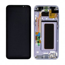 Pantalla LCD y tactil Con Marco color Turquesa para Samsung Galaxy S8 Plus G955F