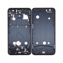 Marco frontal display color negro para HTC U11