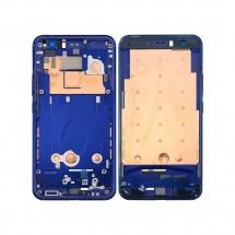 Marco frontal display color azul oscuro para HTC U11