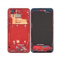Marco frontal display color rojo para HTC U11