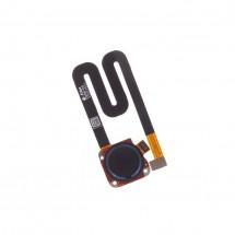 Flex botón lector huella Touc ID color negro para Motorola G6 Play