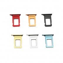 Bandeja porta tarjeta Sim para iPhone XS Max - elige color