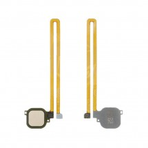 Flex lector huella Tocuh id color dorado para Huawei Nova Plus