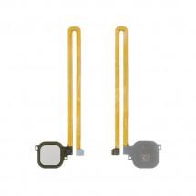 Flex lector huella Tocuh id color plata para Huawei Nova Plus