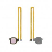 Flex lector huella Tocuh id color rosa para Huawei Nova Plus