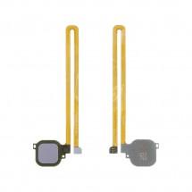Flex lector huella Tocuh id color Gris para Huawei Nova Plus