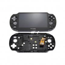 Pantalla compelta LCD display con marco para PS Vita 1000