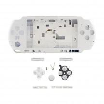 Carcasa completa color blanco para consola Sony PSP 3000 / PSP 3004