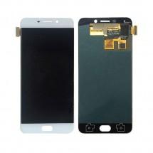Pantalla completa LCD y táctil color blanco para Oppo R9