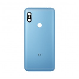 Tapa Trasera Color Azul Para Xiaomi Redmi Note 6 Pro Celuinfo