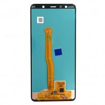 Pantalla completa LCD y táctil color negro para Samsung Galaxy A7 2018 (A750F)