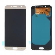 Pantalla LCD y táctil color Dorado para Samsung Galaxy J7 J730F (2017) Compatible