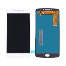 Pantalla LCD y táctil color blanco para Motorola Moto E4 Plus / E4+ XT1770