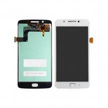 Pantalla LCD y táctil color blanco para Motorola Moto G5 XT1671 XT1676 XT1677
