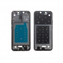 Marco frontal display color negro para Huawei Mate 20 Lite