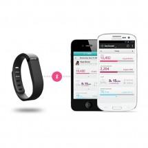 Fitbit Flex pulsera actividad física y sueño en color Azul