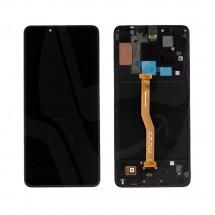 Pantalla completa LCD y táctil color negro para Samsung Galaxy A9 2018 (A920)
