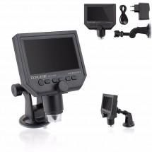 "Microscopio portátil digital 1-600x BAKU BA-006 con Pantalla LED HD de 4.3"" USB"