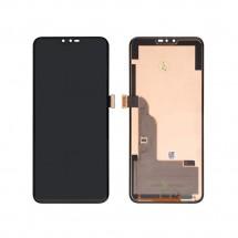 Pantalla completa LCD y táctil color negro para LG V40 ThinQ