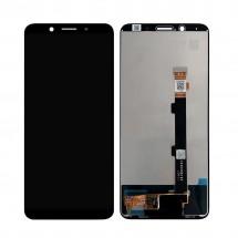 Pantalla completa LCD y táctil color negro para Oppo F5